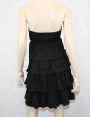 J.Crew Black Ruffle Dress Size XS