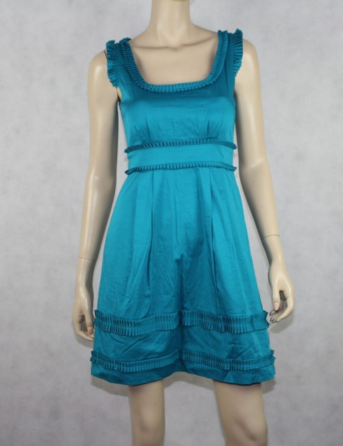 Max and Cleo Turquoise Dress Size 2