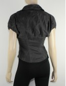 DIESEL womens gray blazer (XS) NWT