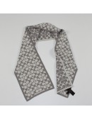 COACH womens signature print merino wool scarf!