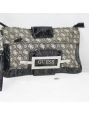 GUESS gray signature woman purse