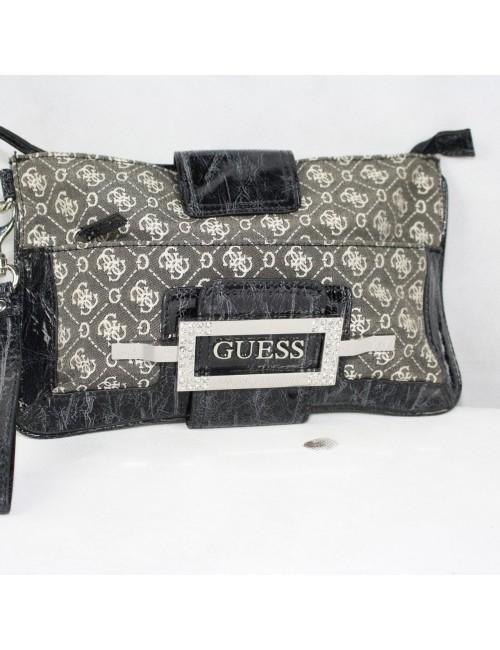GUESS gray signature woman purse
