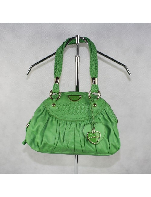 BEBE woman green handbag