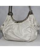 KATHY VAN ZEELAND shiny-ivory handbag!