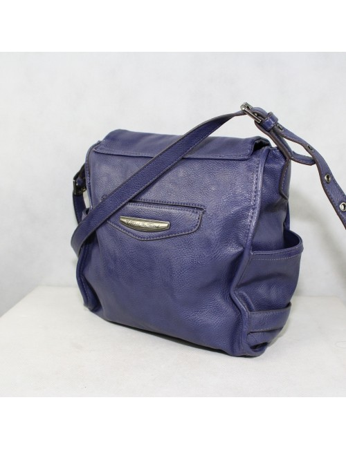 KATHY VAN ZEELAND woman purple cross body bag