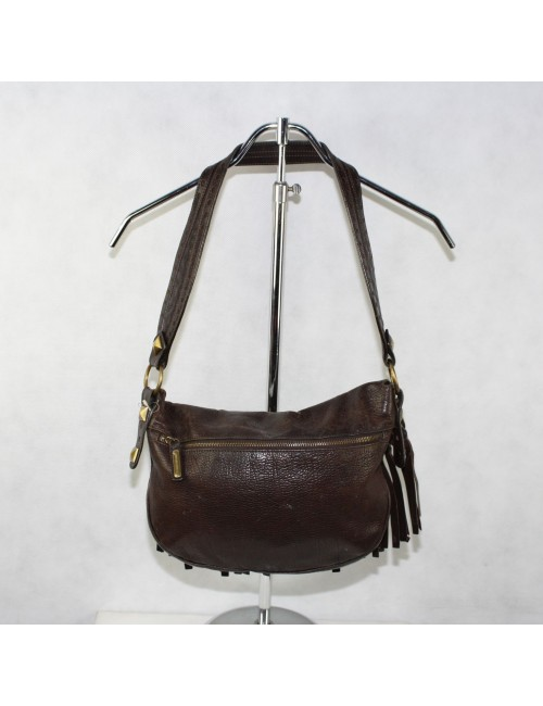 MICHAEL KORS brown padded genuine leather woman handbag