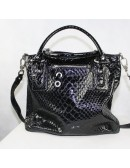 JESSICA SIMPSON black woman handbag