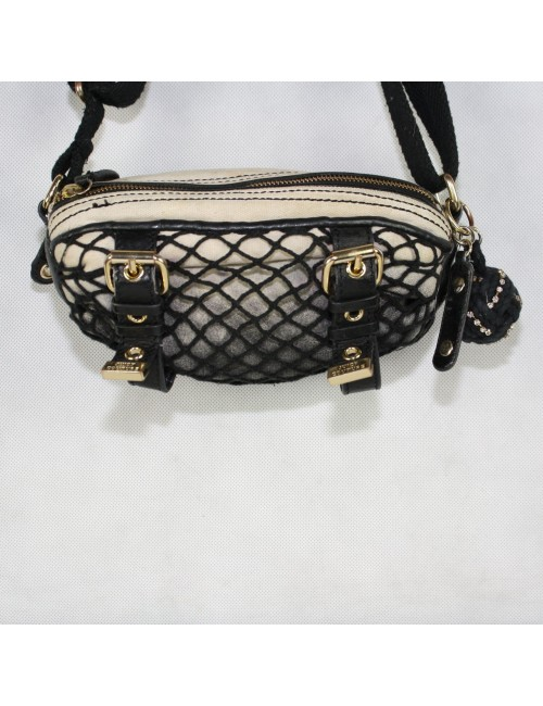 Juicy Couture Beige & Black Cross Boys Bag