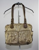 MZ WALLACE Mia crossbody linen handbag.