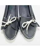 MINNETONKA Kilty leather Moccasin
