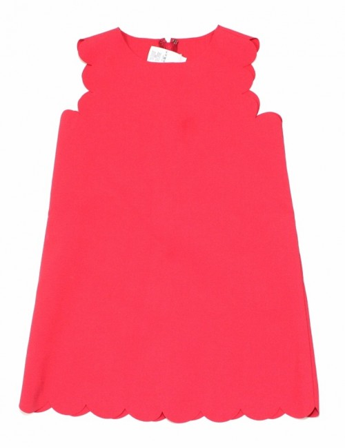 CREW CUTS by J. CREW scalloped shift dress