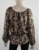 MICHAEL MICHAEL KORS silk top (M)