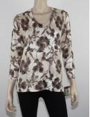 ELLEN TRACY light beige sweater (M) NWT