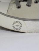 UGG AUSTRALIA evera beige tan canvas 3078