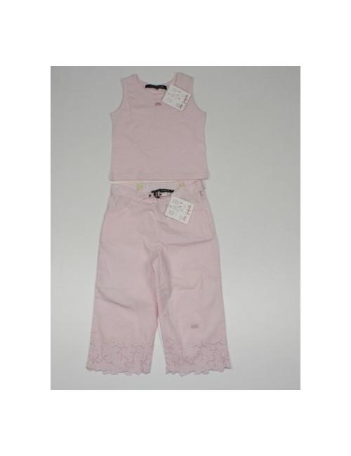 LILI GAUFRETTE 2 pc set pants and top