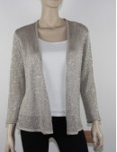 ELLEN TRACY light sweater with beads (M) NWT