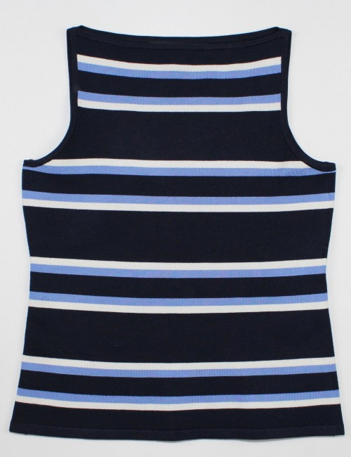 RALPH LAUREN BLACK LABEL sleeveless top (S)