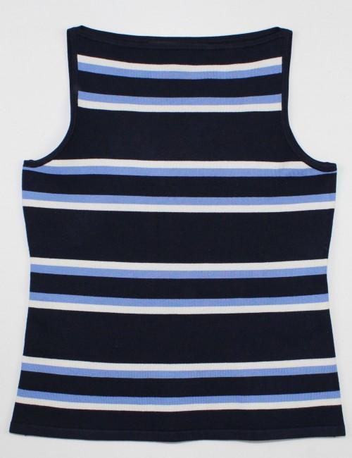 RALPH LAUREN BLACK LABEL sleeveless top (S)