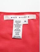 MAX STUDIO plated dress
