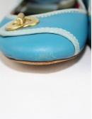 COACH NOEL leather ballet shoes