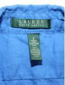 LAUREN RALPH LAUREN button down linien shirt (S)