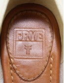 FRYE Delia oxford leather shoes
