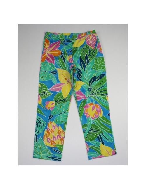RALPH LAUREN cropped multicolor capri pants (8)