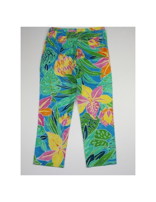 RALPH LAUREN cropped multicolor capri pants (8)