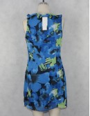 ADRIANNA PAPELL Ruffle Front Dress (6)