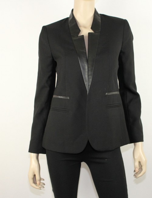 CLUB MONACO womens black blazer (4)