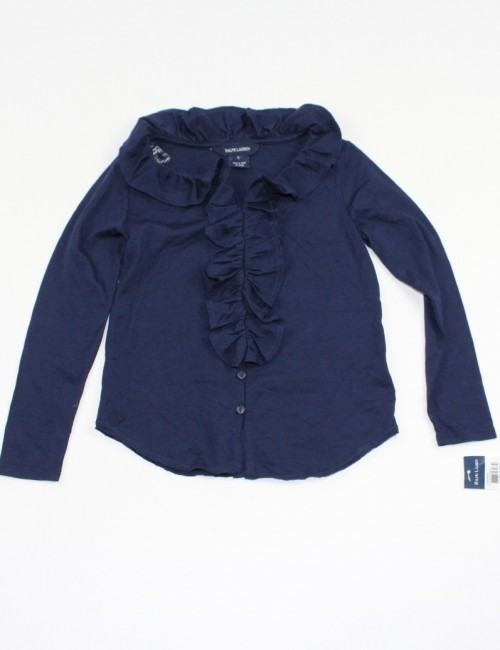 RALPH LAUREN girls ruffle top (5)