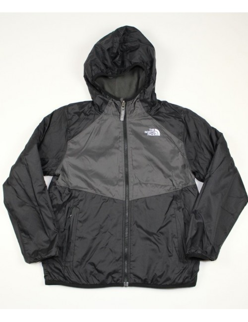 THE NORTH FACE boys warp tide reversible wind jacket (M) (CC21)