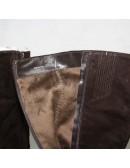 CARLO PAZOLINI womens dark brown knee high heel boots