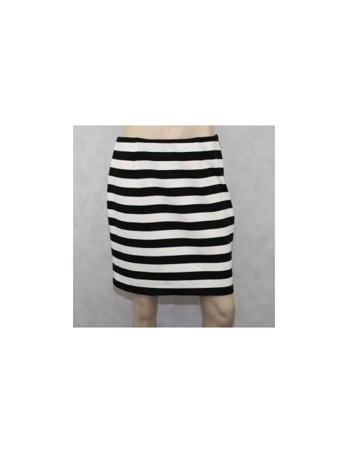 Vince Camuto Black & White Pencil Skirt Size 10