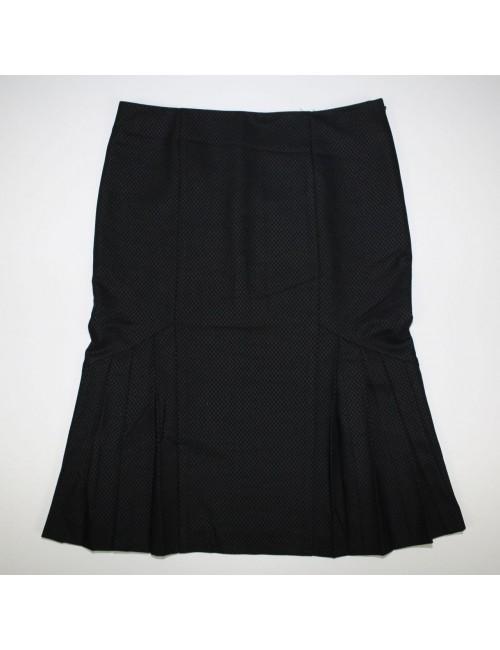 BEBE womens black skirt MADE IN USA
