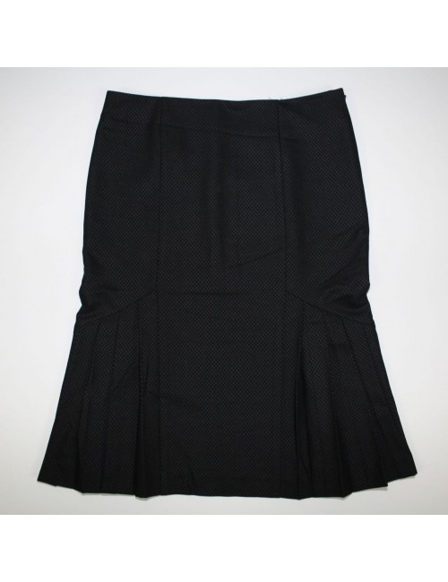 BEBE womens black skirt MADE IN USA