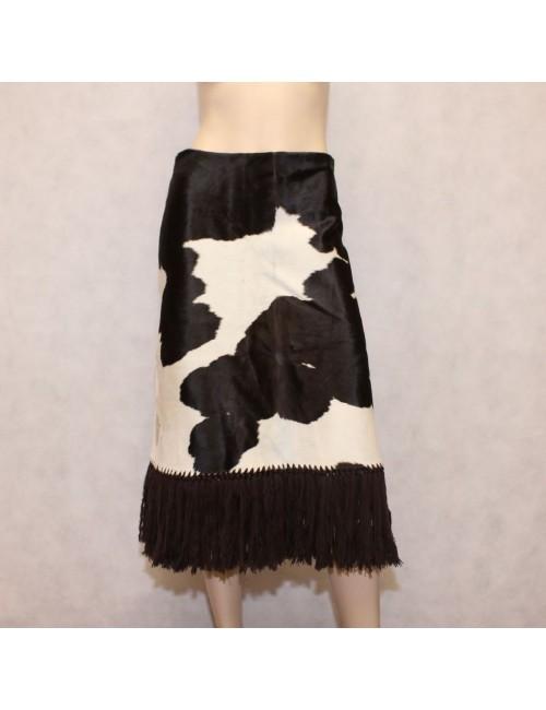 DOLCE & GABBANA 100% CALF skirt made in Italy!