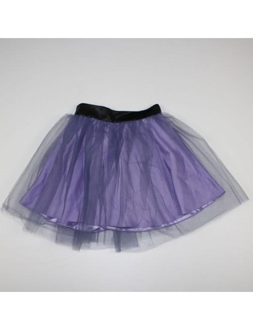 MISILE for FREE PEOPLE silk mini tutu skirt!