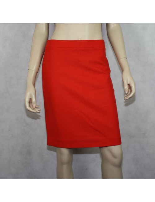 J.CREW Factory pencil skirt in double serge wool Size 0