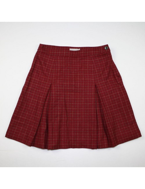 J.CREW wool plaid skirt Size 10