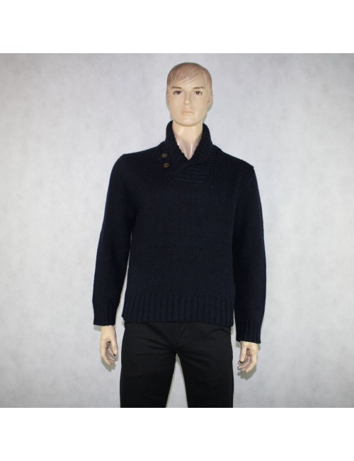 POLO BY RALPH LAUREN mens cowl neck sweater (size L)
