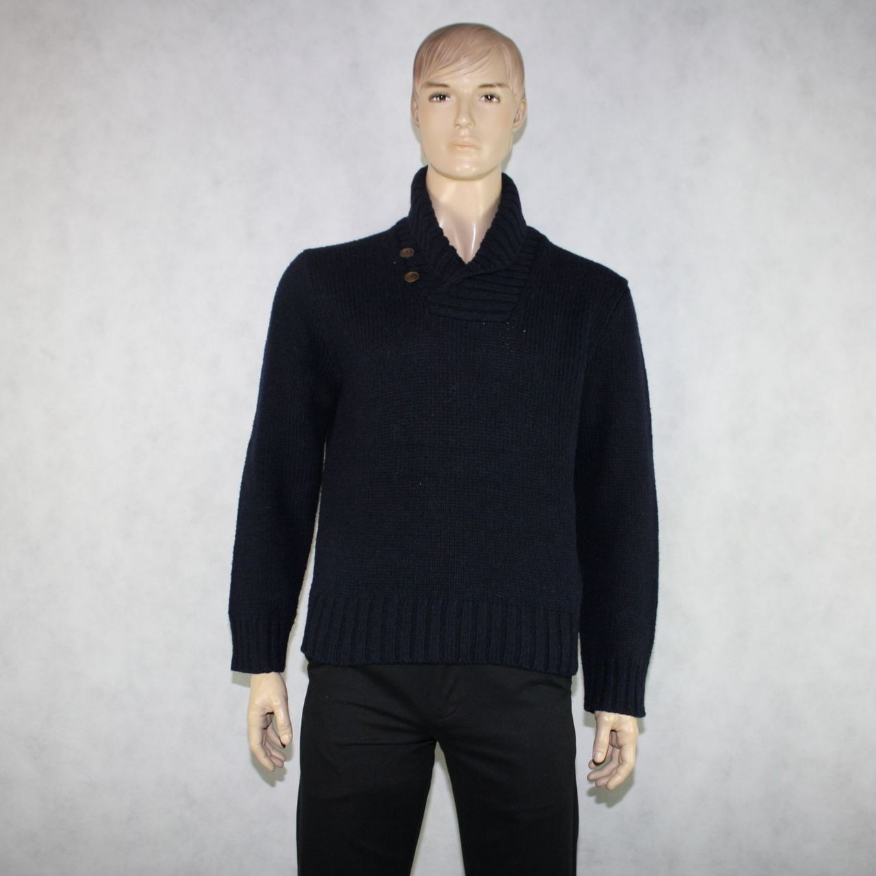 Mens Cowl Neck Sweater Her Sweater