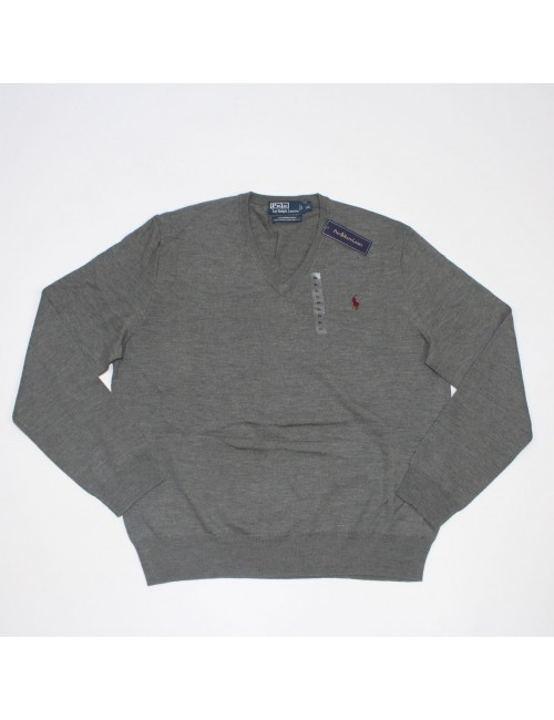 POLO BY RALPH LAUREN Mens Merino Wool V-neck Sweater