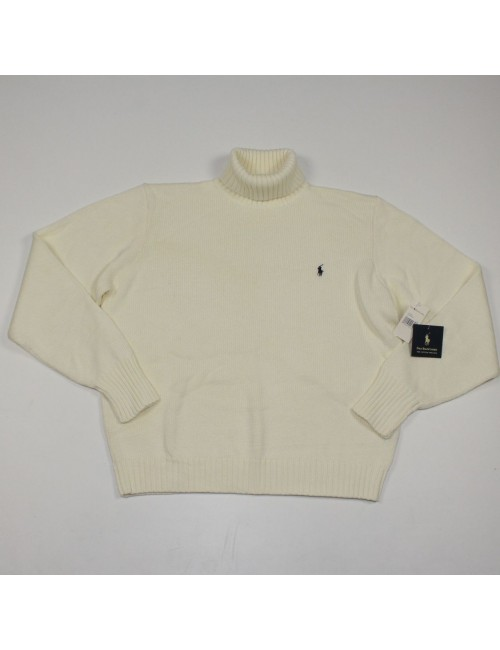 POLO BY RALPH LAUREN 100% cotton turtleneck sweater Size L