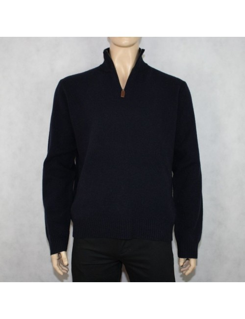 J.CREW lambswool half-zip sweater Size XL