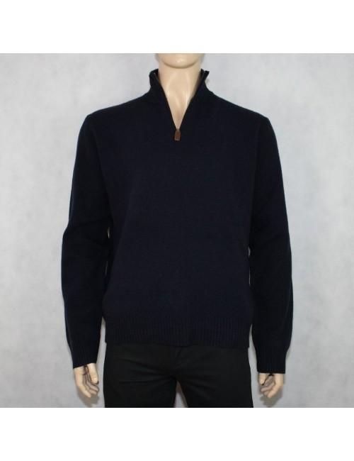 J.CREW lambswool half-zip sweater Size XL