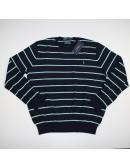 POLO BY RALPH LAUREN striped pima sweater Size XL