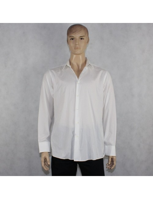 BOSS HUGO BOSS Regular Fit mens white shirt (size 17.5)