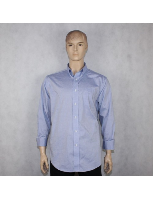 RALPH LAUREN mens ligh blue shirt non iron (17.5 / 32/33)!