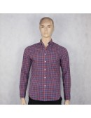 J.CREW mens slim lightweight shirt in bright gingham